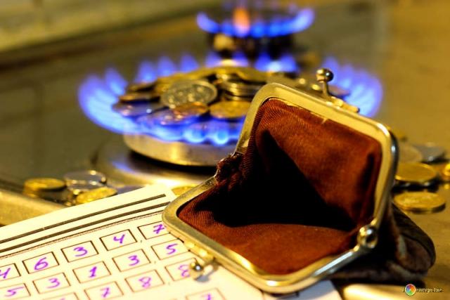 Задолженность за газ