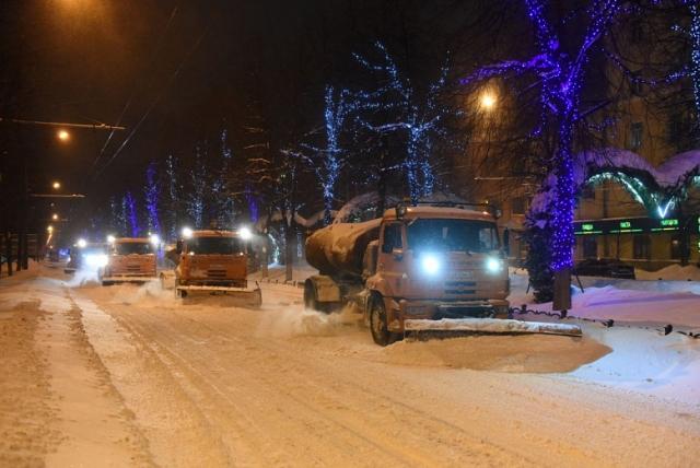 В Ярославле за невывезенный снег заплатили 10,9 млн рублей