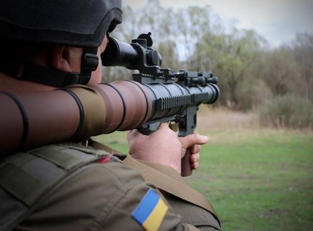 США подкинули украинской нацгвардии модернизированные советские гранатометы
