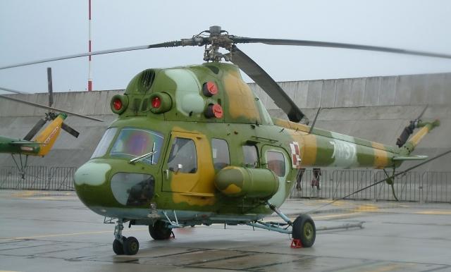 В Ставрополье снова упал вертолет Ми-2