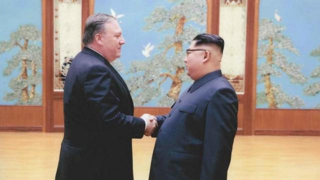 Встреча Помпео и Ким Чен Ына. КНДР