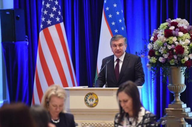США и Узбекистан: Новая страница?