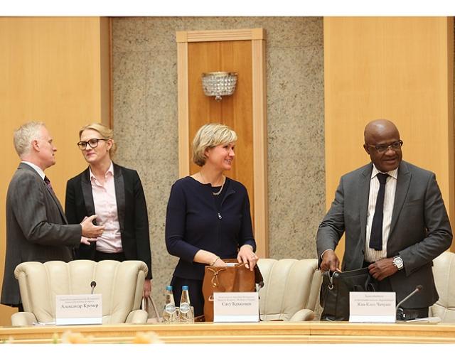 Встреча с представителями Совета исполнительных директоров Группы Всемирного банка
