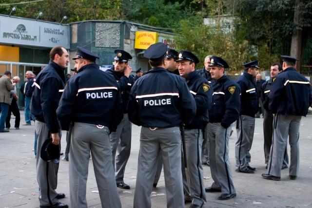 Грузинская полиция