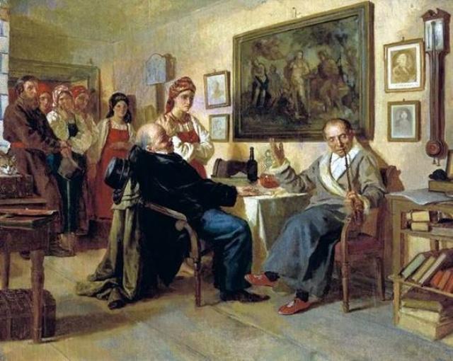 Николай Неврев. Торг. 1866