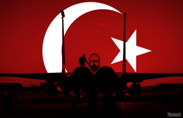 Самолет. Турция
