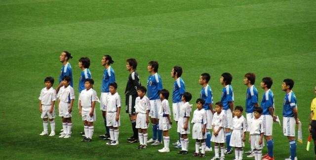 Сборная Японии по футболу. 2008