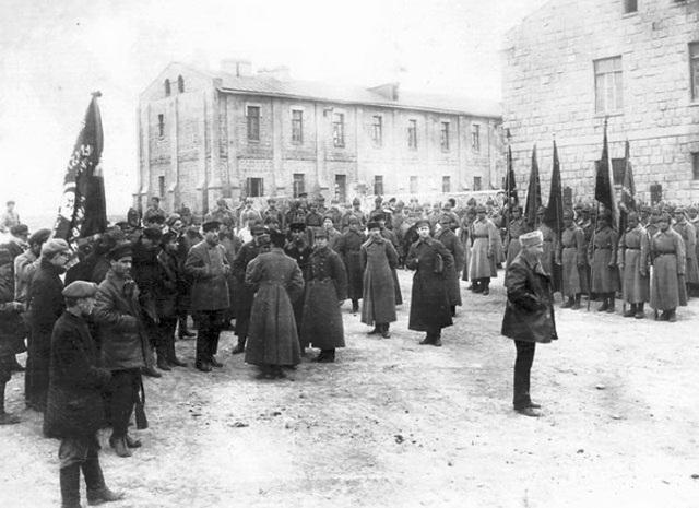 Красная армия в Баку. Май 1920 г