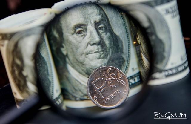 Укрепление рубля обусловлено локальными факторами
