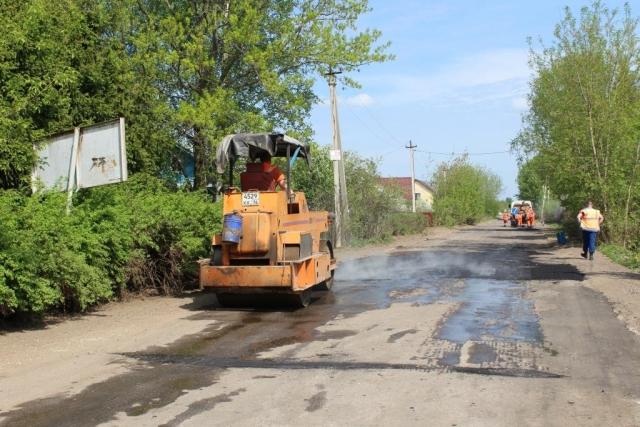 В Ярославле дорогу для мусоровозов из Москвы ремонтируют за бюджетный счет?