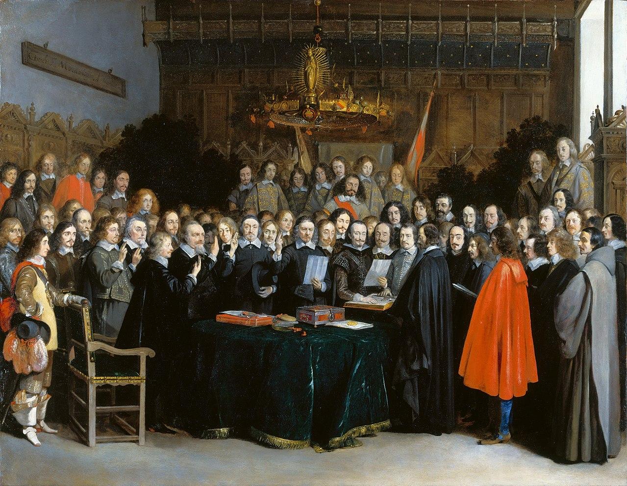 Герард Терборх. Вестфальский мир. 1648