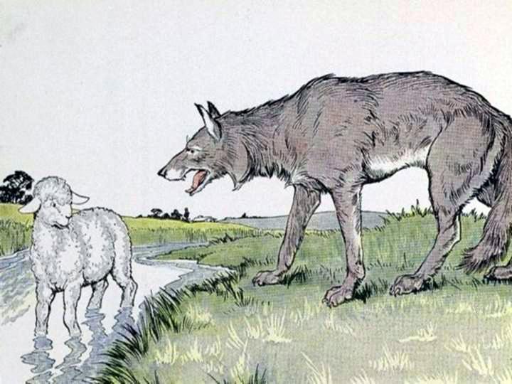 картинки как нарисовать волка и ягненка найдете адресные
