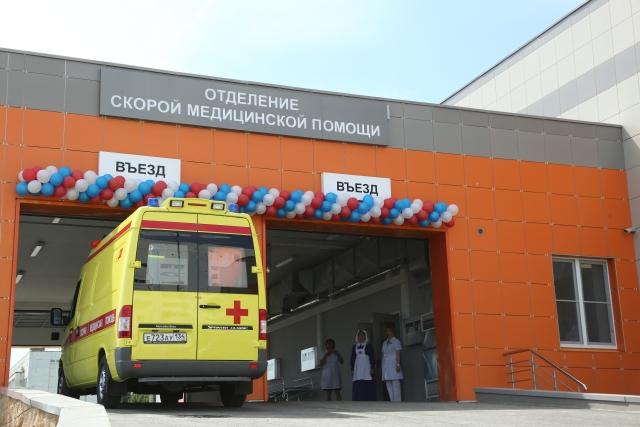 Новое отделение скорой помощи — самое современное в России