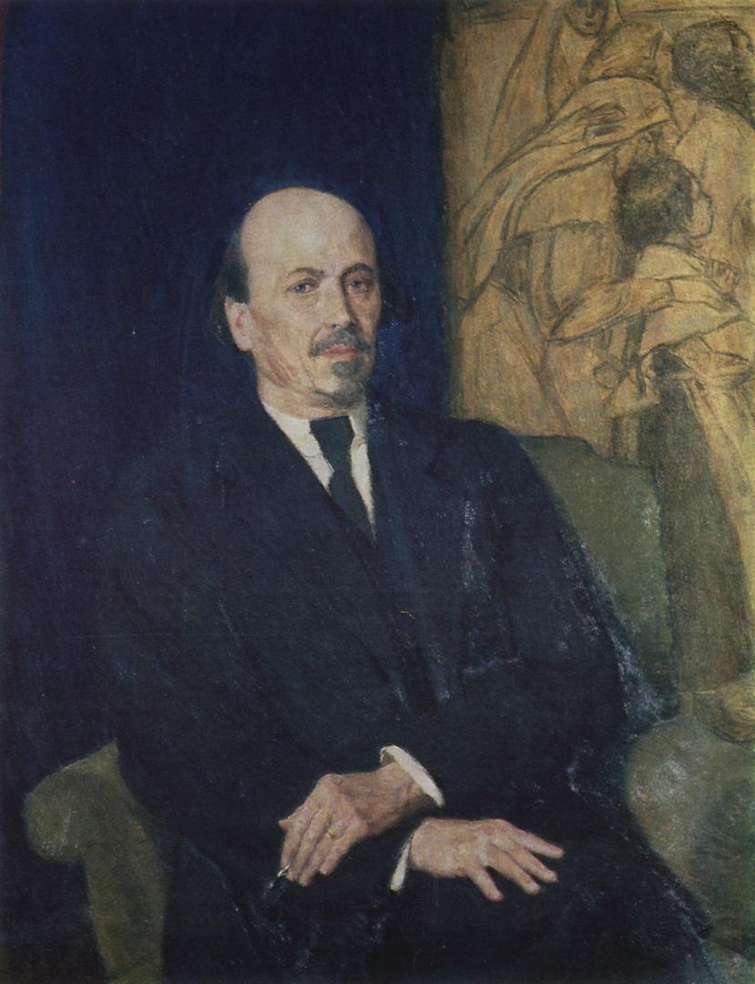 Виктор Васнецов. Портрет М. В. Нестерова. 1926