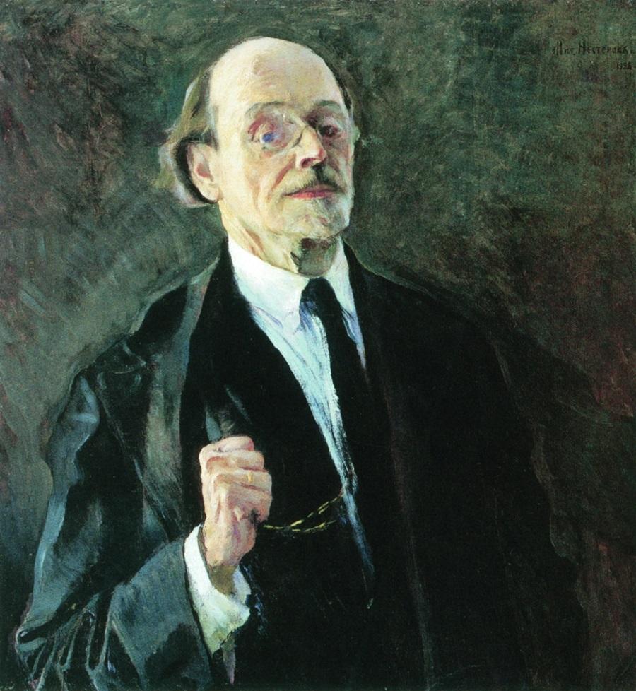 Михаил Нестеров. Автопортрет. 1928