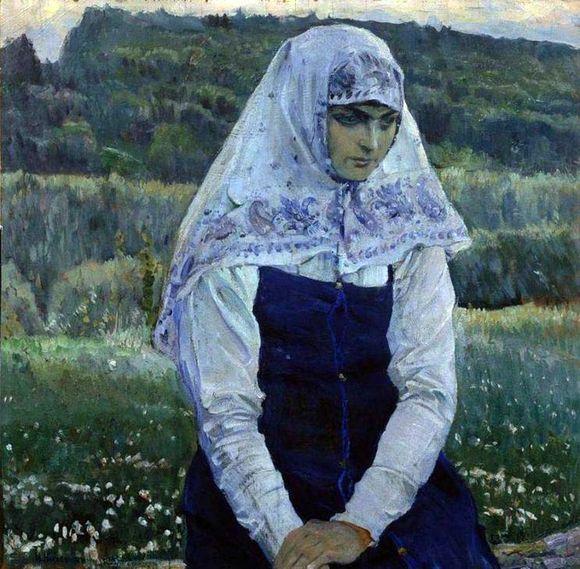 Михаил Нестеров. Христова невеста. 1887