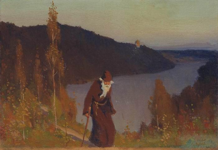 Михаил Нестеров. Тишина. 1888