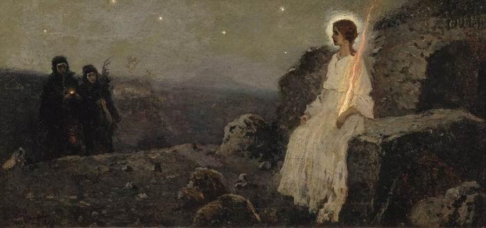 Михаил Нестеров. Жены-мироносицы. 1889