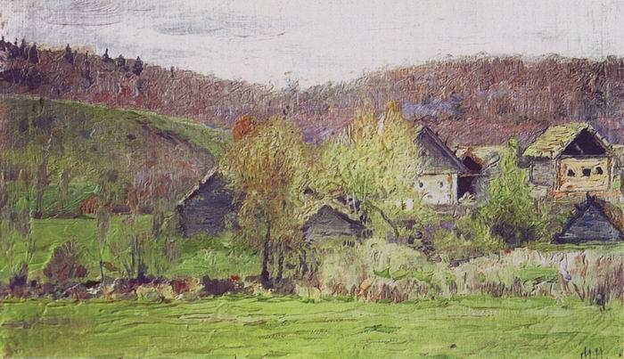 Михаил Нестеров. Ранней весной. 1905