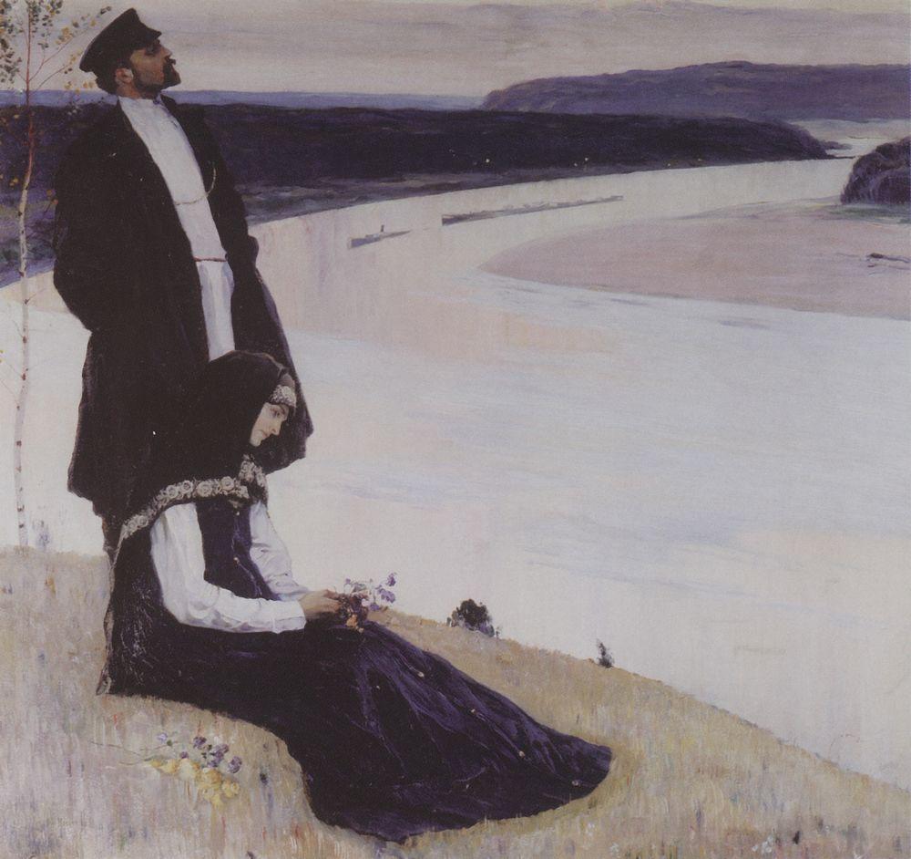 Михаил Нестеров. На Волге. 1905