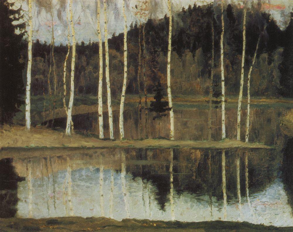 Михаил Нестеров. Начало весны (Ранняя весна). 1905