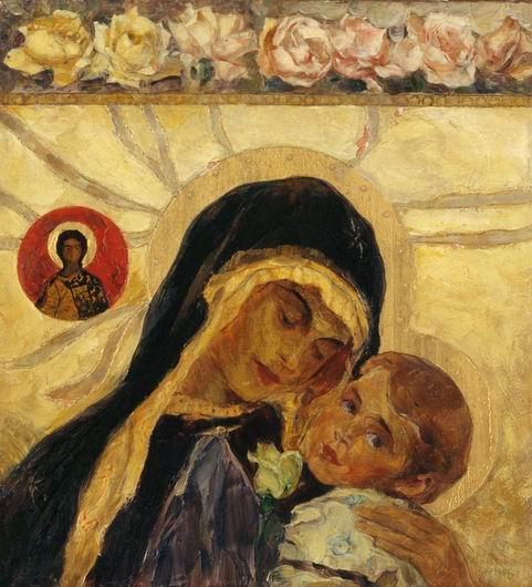 Михаил Нестеров. Богоматерь Умиление. 1906