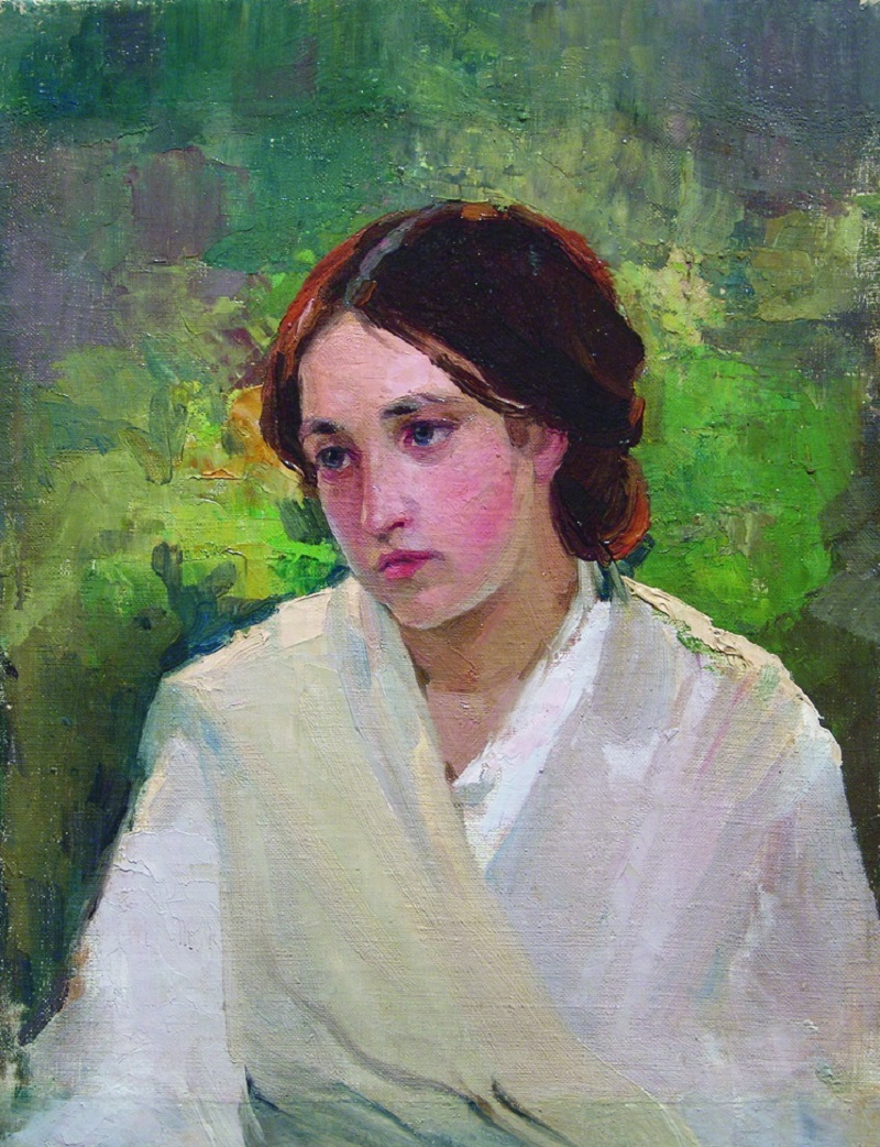 Михаил Нестеров. Портрет девушки. 1910