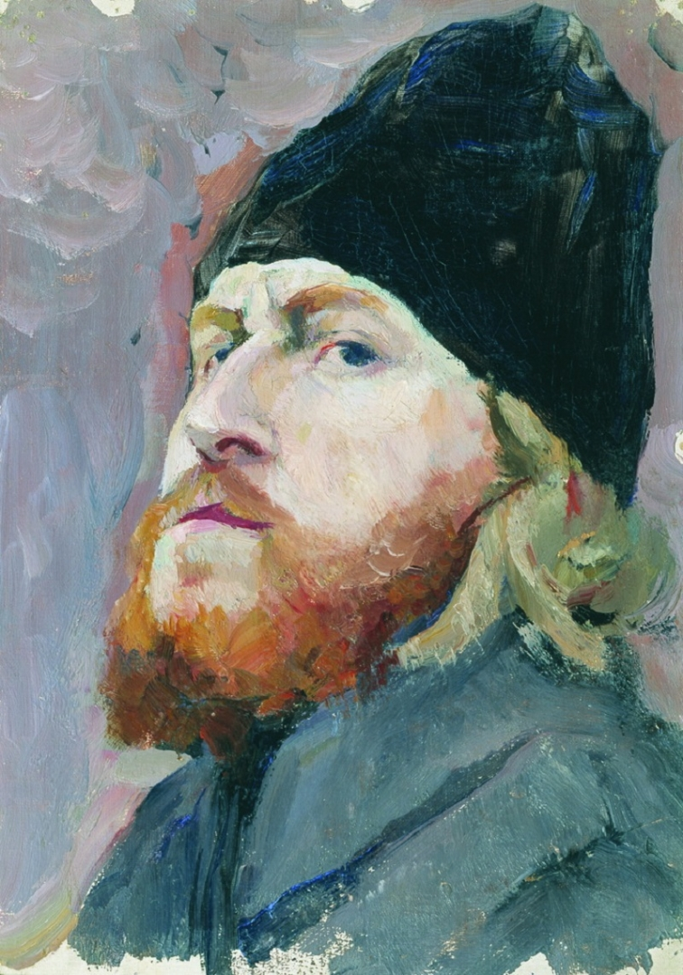 Михаил Нестеров. Голова монаха. 1913