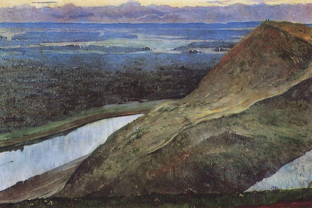Михаил Нестеров. Родина Аксакова. 1914