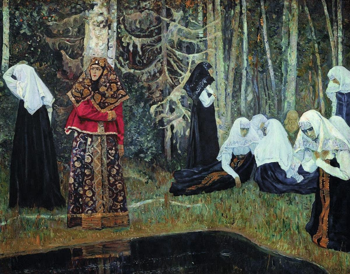 Михаил Нестеров. Сказание о невидимом граде Китеже. 1919–1922