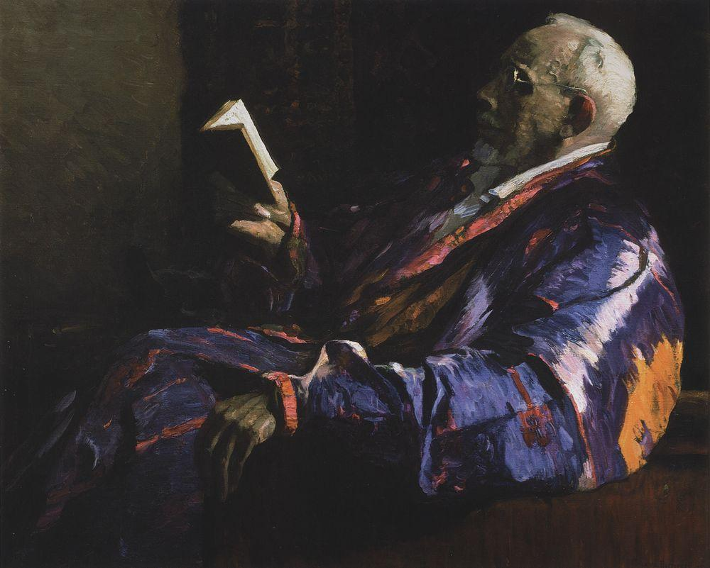 Михаил Нестеров. Портрет академика, биолога А. Н. Северцова. 1934