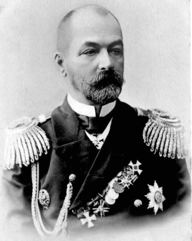 Вице-адмирал Зиновий Рожественский — командующий 2-й эскадрой флота Тихого океана