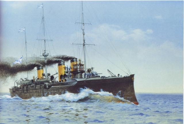Андрей Тронь. Прорыв крейсера II ранга «Изумруд»