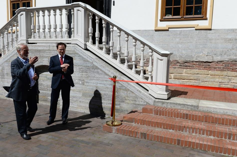 Мединский открыл Летний дворец Петра Iпосле реставрации