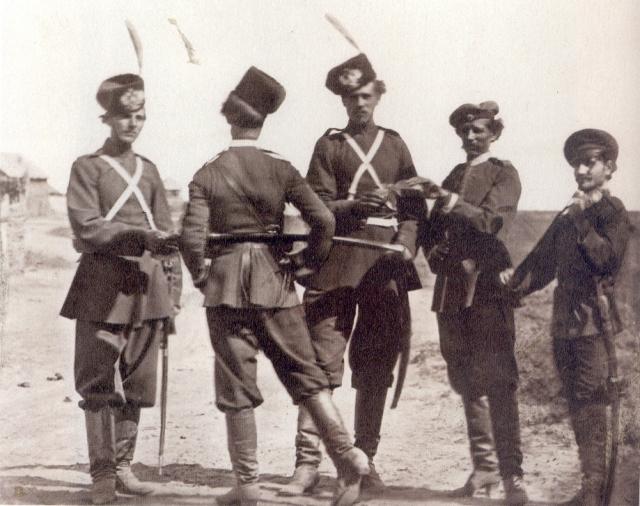 Сбор казаков на службу