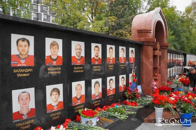 В Ярославле на могилы хоккеистов «Локомотива» повадились ходить воры
