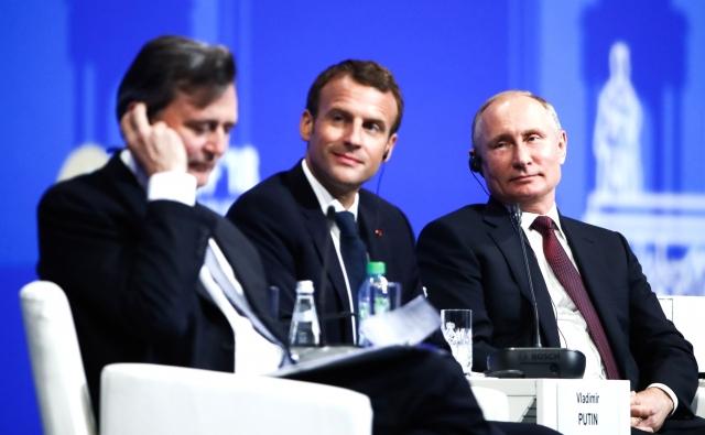 На пленарном заседании XXII Петербургского международного экономического форума. 25 мая 2018 года, Санкт-Петербург