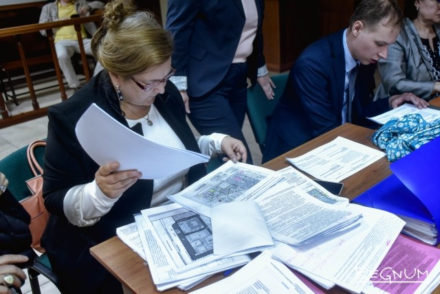 Заседание по иску к правительству Москвы жителей кварталов 47−48 района Кунцево г. Москвы