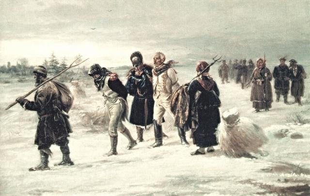 Илларион Прянишников. Пленные французы. 1874