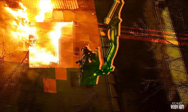 В Удмуртии горит одна из исправительных колоний