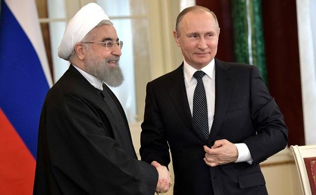 Хасан Роухани и Владимир Путин