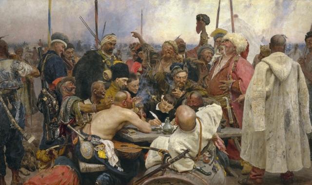 Илья Репин. Запорожцы. 1891