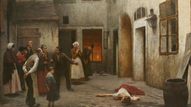 Якуб Шиканедер. Убийство в доме