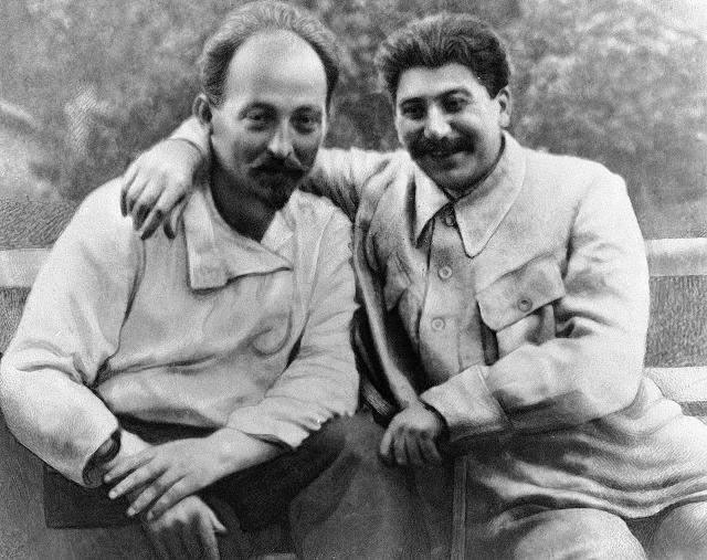 Феликс Дзержинский и Иосиф Сталин