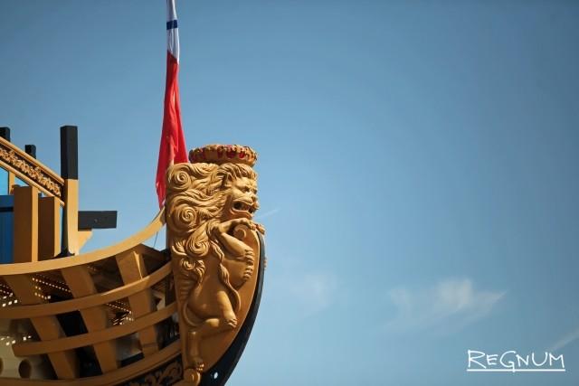 Носовая фигура корабля «Полтава»