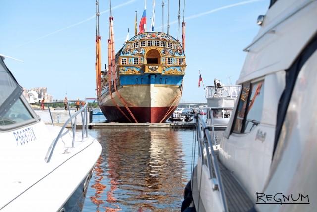 Корабль «Полтава» станет центром музейной экспозиции