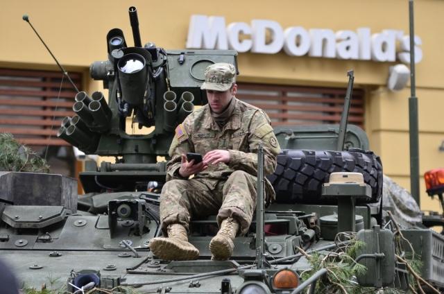 Армия США в Европе