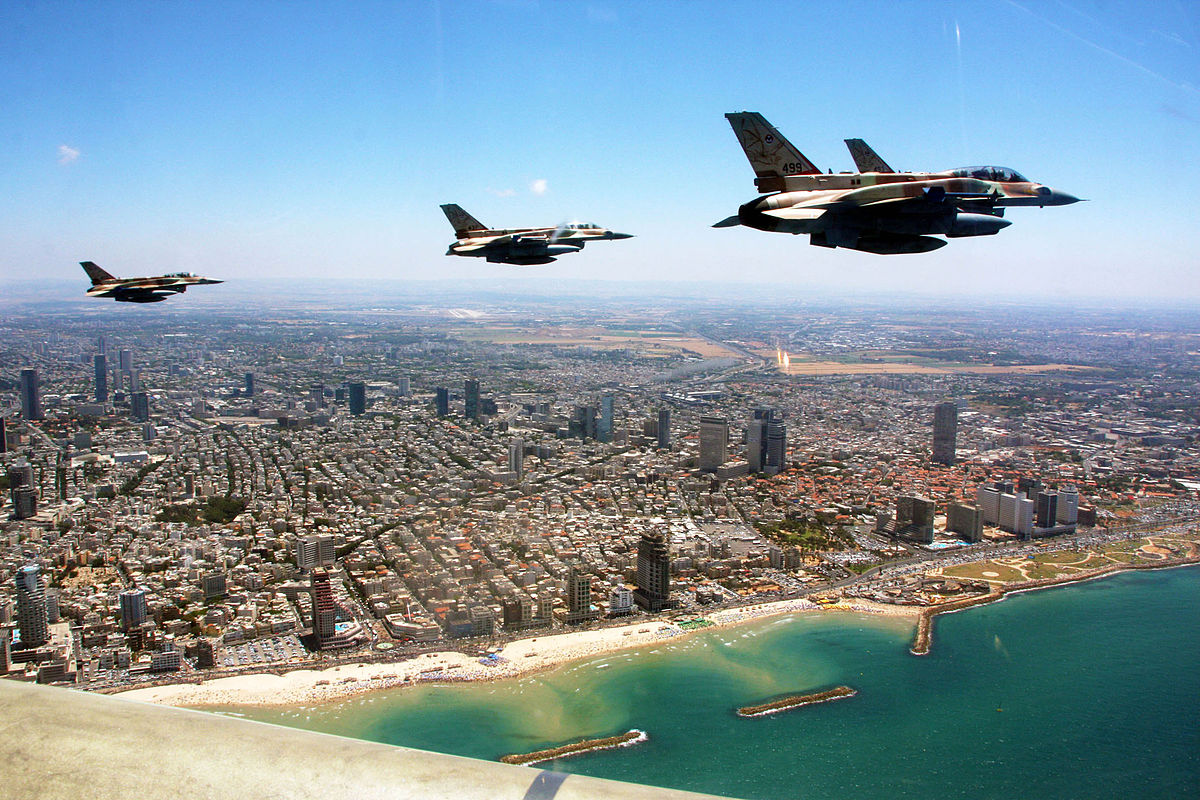 Самолеты F-16 ВВС Израиля