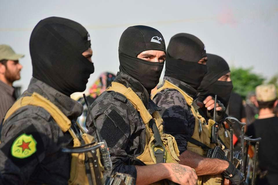 Курдские Отряды народной самообороны. Сирия
