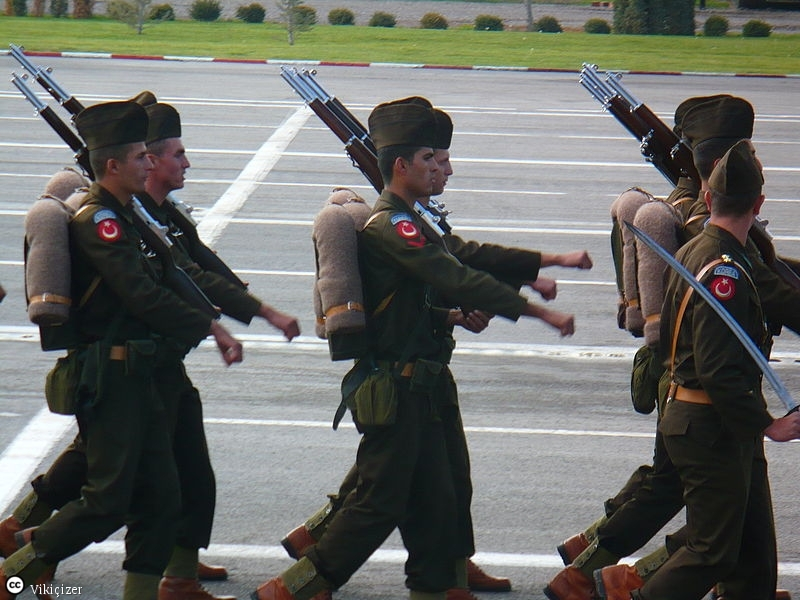 Солдаты турецкой армии